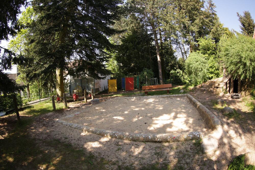Sandkasten im Kindergarten Gersfeld