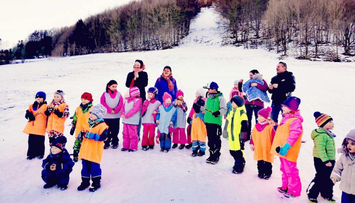 1. Winterolypiade im Kindergarten Don Bosco