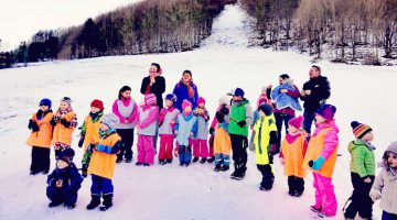 1. Winterolypiade im Kindergarten Don Bosco