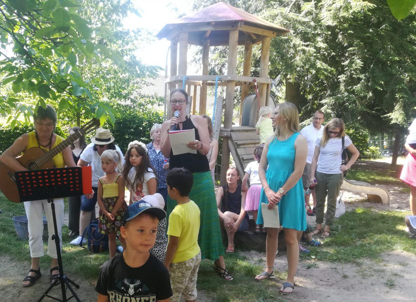 Sommerfest Kindergarten Gersfeld