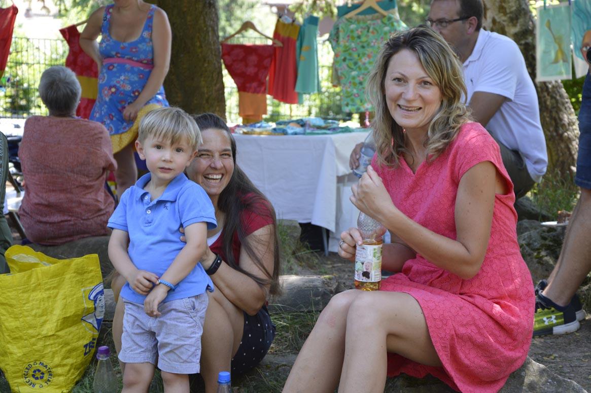 Gute Laune garantiert beim Sommerfest der Kindertagesstätte