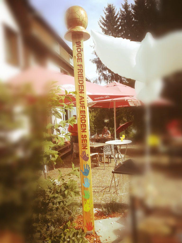 Der Rhöner Friedenspfahl in Gersfeld