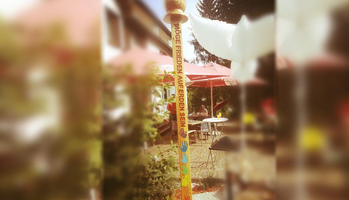 Friedenspfahl in der Rhön